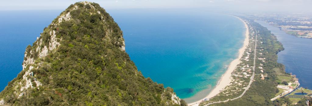 Vista panoramica da Monte Circeo