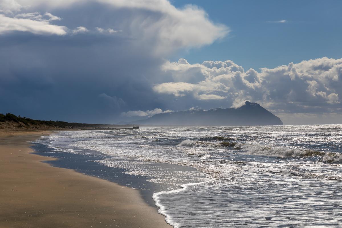 Le dune sabbiose di Sabaudia